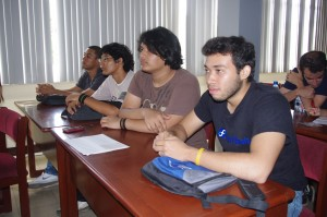 Public at Fedora 19 Release Party Managua