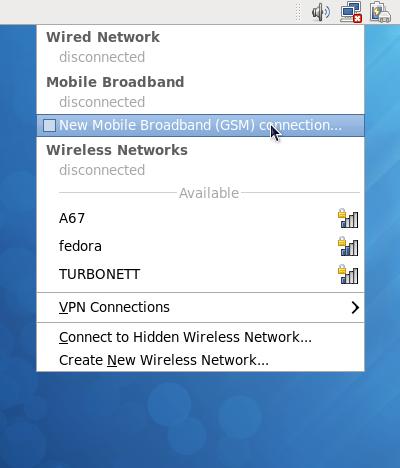 Iniciar nueva red de banda ancha movil